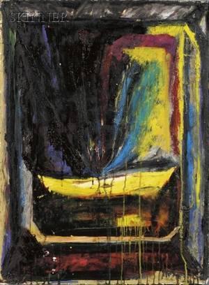 Michael Phillips American 20th Century Lot of Three Works Charleston Series