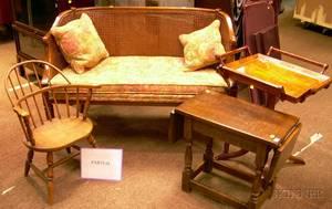 Nine Pieces of Decorative Furniture