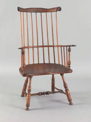 Philadelphia combback windsor armchair ca 1760