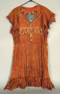 Plains hide dress