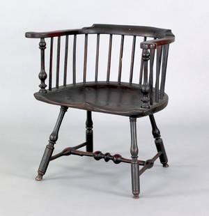 Philadelphia lowback windsor armchair ca 1760