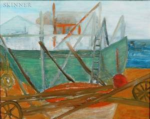 Alice Hoyt Palmer American 20th Century Flyers Boatyard