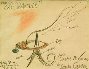Alexander Calder American 18981976 Un Movil