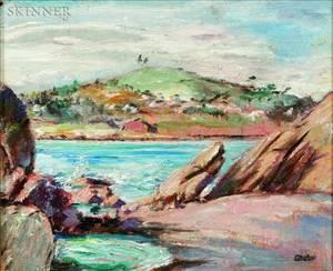 Max Kuehne American 18801968 Pigeon Cove Rockport