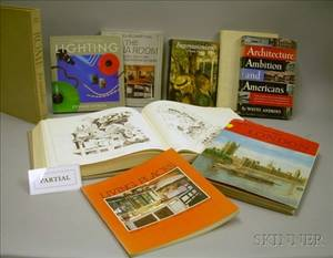 Collection of Approximately Sixtyfour Architecture Design and Antiques Reference Books