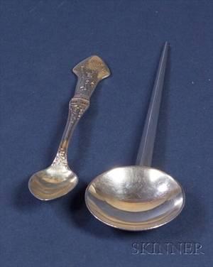Two Tiffany  Company Sterling Souvenir Spoons