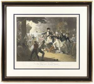 Daniel Orme 1805 Engraving Battle of The Nile