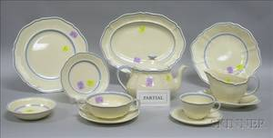 Fiftyone Piece Royal Doulton The Durham Pattern Partial Dinner Service