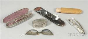 Group of Early Spectacles