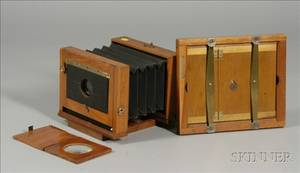 View Camera Printing Frame and Miniature Graphoscope