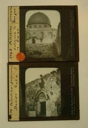 Photographic Magic Lantern Slides of Palestine