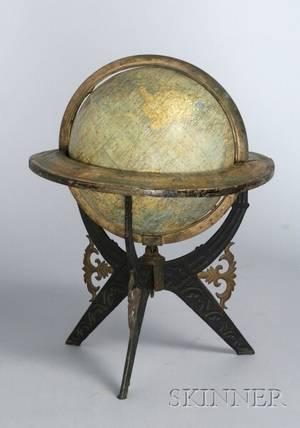 Eightinch Terrestrial Globe by Holbrook