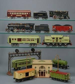 Comprehensive Lionel Standard Gauge Train Set and Accessories