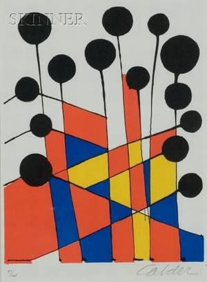 Alexander Calder American 18981976 Color Fields