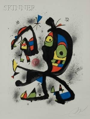 Joan Miro Spanish 18931983 Joan Miro Obra Grafica