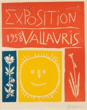 Pablo Picasso Spanish 18811973 Exposition 1958 Vallauris