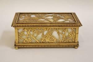 Tiffany Studios Grapevine Box
