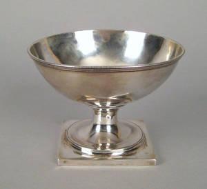 Philadelphia silver bowl late 18th c