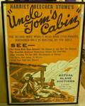 Framed Uncle Toms Cabin Theatrical Poster