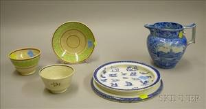 Five Pieces of Assorted English Decorated Ceramics