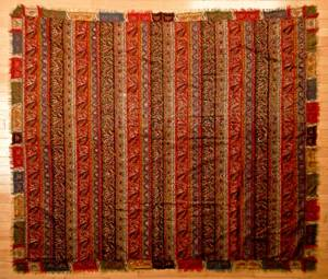 Two antique paisley shawls