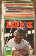 Collection of 1980s and 1990s Boston Red Sox Yearbooks Souvenir Books Programs and Calendars