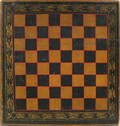 Painted gameboard late 19th c