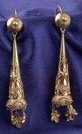 Antique 18kt Gold Earpendants