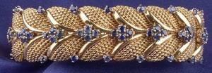 18kt Gold and Sapphire Bracelet Bulgari