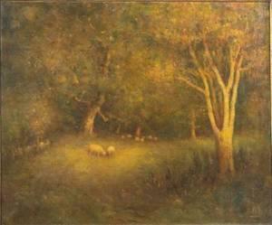 Henry Hammond Ahl American 18691953 Lingering Light