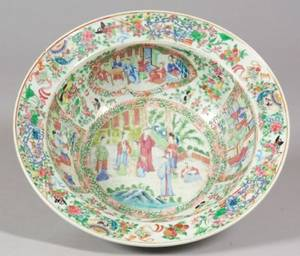Rose Mandarin Porcelain Basin