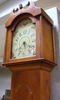 Federal Pine Tall Case Clock