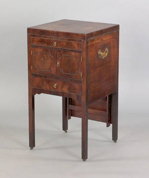 George III mahogany commode ca 1780