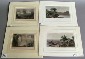 Six printed works