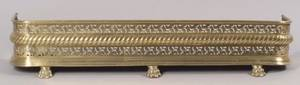 Brass and Iron Fire Fender