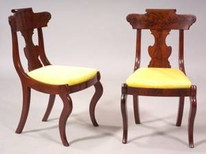 Pair of Classical Mahogany Childs Chairs