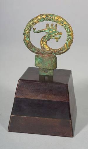 Giltbronze Sword Pommel