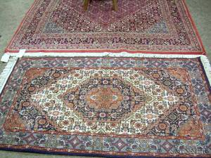 Two IndoPersian Rugs