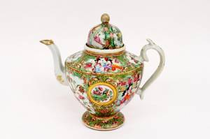 Chinese Rose Medallion Pitcher