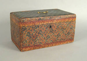 Lock box 19th c