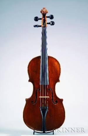 Neapolitan Violin probably Gagliano Workshop c 1830