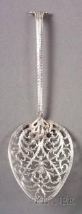 Irish George III Silver Fish Slice