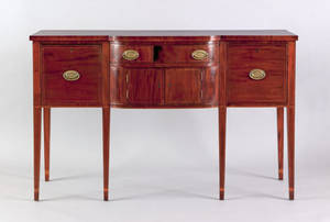 Charleston South Carolina Federal mahogany sideboard ca 1805