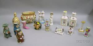 Group of Decorative and Collectible Ceramic Items