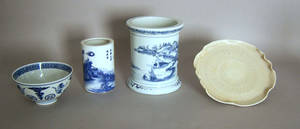 Four pcs of Chinese porcelain