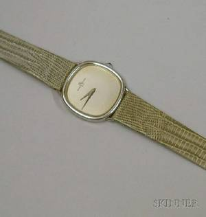 Baume and Mercier Stainless Steel 17Jewel Mans Wristwatch