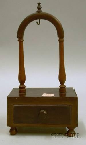 Early 19th Century Mahogany Watch Hutch