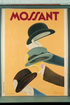 Leonetto Cappiello French 18751942 Mossant