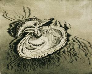 Andre Racz American b 1916 The Mollusk