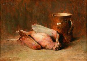Emil Carlsen American 18531932 Still Life with Timberdoodle